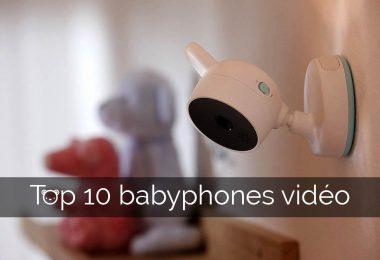 découvrez notre guide d'achat comparatif du meilleur babyphone vidéo